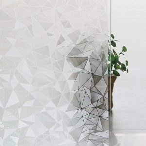 Geometric window film